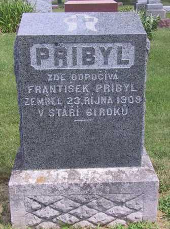 PRIBYL, FRANTISEK - Johnson County, Iowa   FRANTISEK PRIBYL