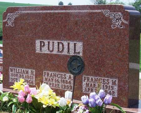 JESINA PUDIL, FRANCES - Johnson County, Iowa | FRANCES JESINA PUDIL
