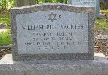 SACKTER, WILLIAM