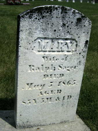 SAGER, MARY - Johnson County, Iowa | MARY SAGER