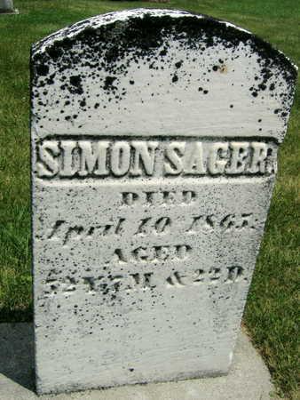 SAGER, SIMON - Johnson County, Iowa | SIMON SAGER