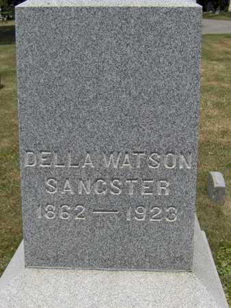 WATSON SANGSTER, DELLA - Johnson County, Iowa   DELLA WATSON SANGSTER