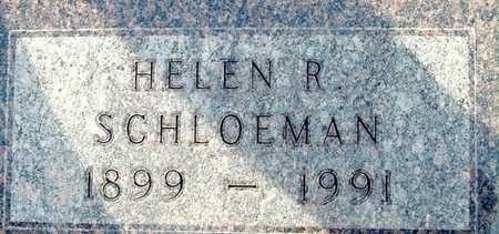 SCHLOEMAN, HELEN R - Johnson County, Iowa | HELEN R SCHLOEMAN