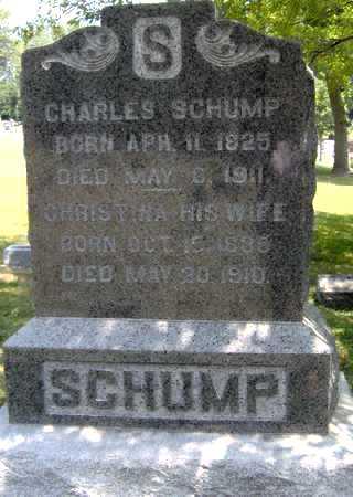 SCHUMP, CHARLES - Johnson County, Iowa | CHARLES SCHUMP