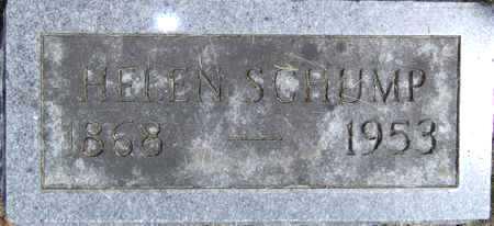 SCHUMP, HELEN - Johnson County, Iowa   HELEN SCHUMP