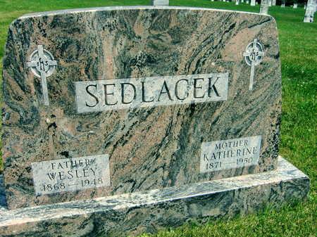 SEDLACEK, WESLEY - Johnson County, Iowa | WESLEY SEDLACEK
