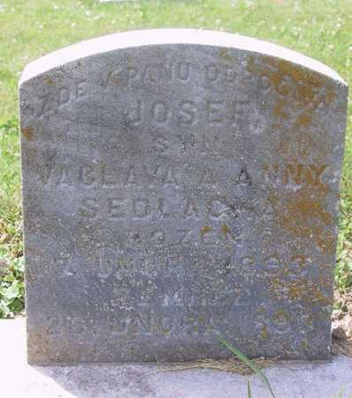 SEDLACKA, JOSEF - Johnson County, Iowa | JOSEF SEDLACKA