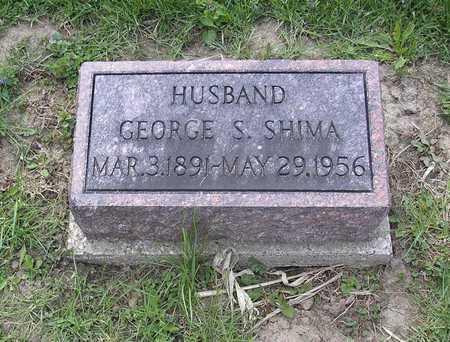 SHIMA, GEORGE - Johnson County, Iowa   GEORGE SHIMA