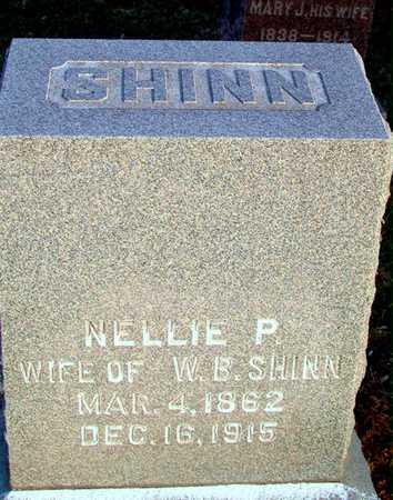 SHINN, NELLIE P - Johnson County, Iowa   NELLIE P SHINN