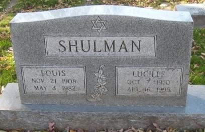 SHULMAN, LUCILLE - Johnson County, Iowa | LUCILLE SHULMAN