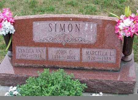 SIMON, JOHN - Johnson County, Iowa | JOHN SIMON
