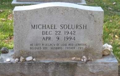 SOLURSH, MICHAEL - Johnson County, Iowa   MICHAEL SOLURSH