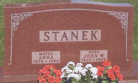 STANEK, JOHN W. - Johnson County, Iowa | JOHN W. STANEK