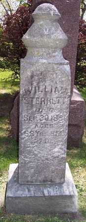STERRETT, WILLIAM - Johnson County, Iowa | WILLIAM STERRETT