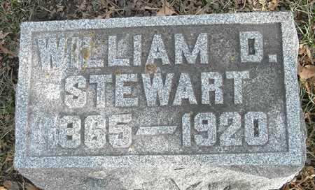 STEWART, WILLIAM D - Johnson County, Iowa   WILLIAM D STEWART