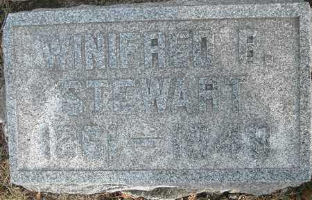 STEWART, WINIFRED B - Johnson County, Iowa | WINIFRED B STEWART
