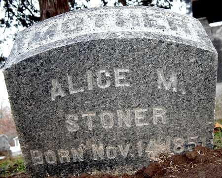 STONER, ALICE M - Johnson County, Iowa | ALICE M STONER