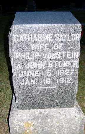 SAYLOR STONER, CATHERINE - Johnson County, Iowa   CATHERINE SAYLOR STONER