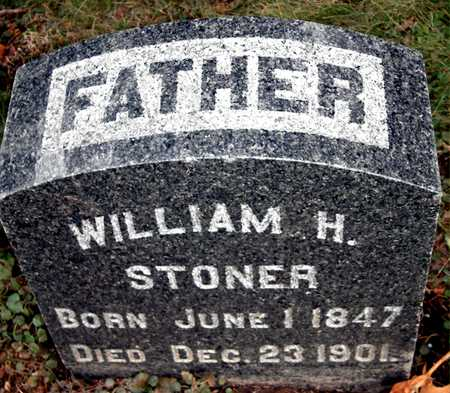 STONER, WILLIAM H - Johnson County, Iowa   WILLIAM H STONER