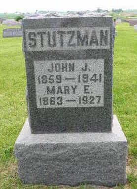 SLAUBAUGH STUTZMAN, MARY - Johnson County, Iowa | MARY SLAUBAUGH STUTZMAN