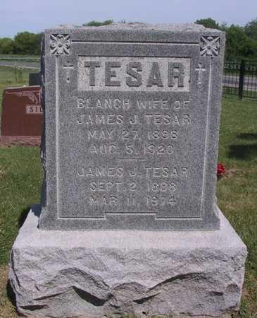 TESAR, BLANCH - Johnson County, Iowa   BLANCH TESAR