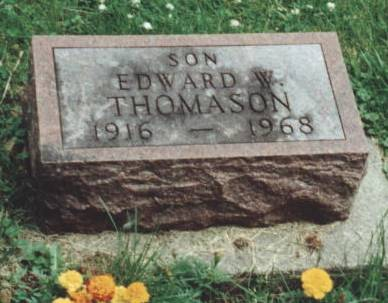 THOMASON, EDWARD WALTER - Johnson County, Iowa | EDWARD WALTER THOMASON