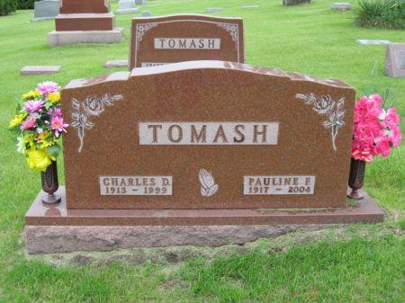 TOMASH, PAULINE F - Johnson County, Iowa   PAULINE F TOMASH