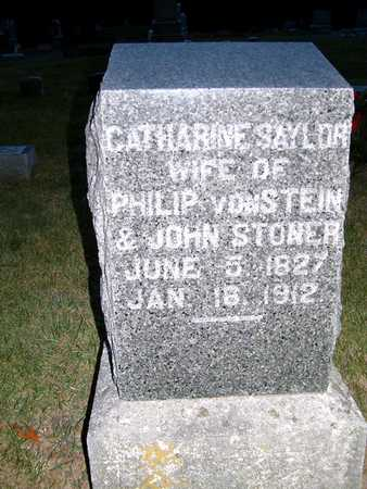 SAYLOR VONSTEIN, CATHERINE - Johnson County, Iowa | CATHERINE SAYLOR VONSTEIN