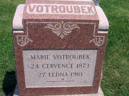 VOTROUBEK, MARIE - Johnson County, Iowa | MARIE VOTROUBEK