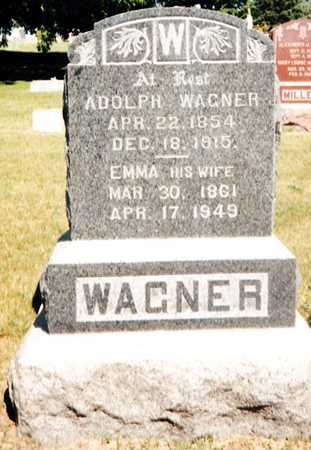 WAGNER, ADOLPH - Johnson County, Iowa | ADOLPH WAGNER