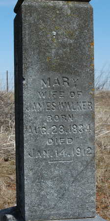 WALKER, MARY - Johnson County, Iowa | MARY WALKER