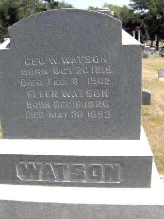 WATSON, ELLEN - Johnson County, Iowa | ELLEN WATSON