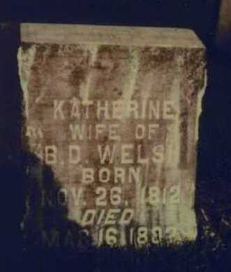 WELCH, KATHERINE - Johnson County, Iowa | KATHERINE WELCH