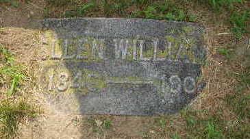 WILLIAMS, ELLEN - Johnson County, Iowa   ELLEN WILLIAMS
