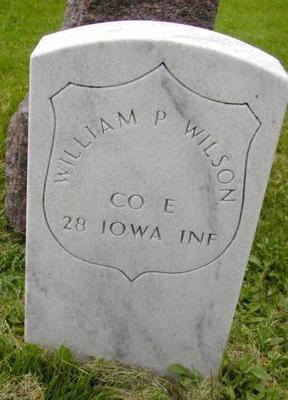 WILSON, WILLIAM P - Johnson County, Iowa | WILLIAM P WILSON