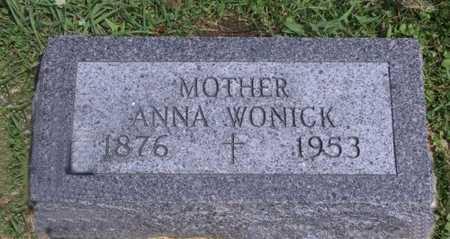 WONICK, ANNA - Johnson County, Iowa | ANNA WONICK