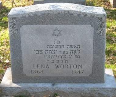 WORTON, LENA - Johnson County, Iowa | LENA WORTON