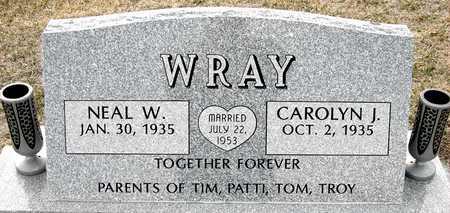 WRAY, NEAL W - Johnson County, Iowa   NEAL W WRAY