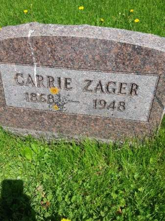 ZAGER, CARRIE - Johnson County, Iowa | CARRIE ZAGER