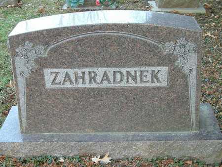 ZAHRADNEK, GEORGE - Johnson County, Iowa | GEORGE ZAHRADNEK