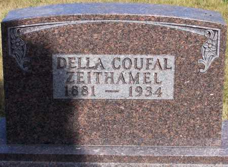 COUFAL ZEITHAMEL, DELLA - Johnson County, Iowa   DELLA COUFAL ZEITHAMEL