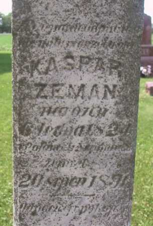 ZEMAN, KASPER - Johnson County, Iowa | KASPER ZEMAN