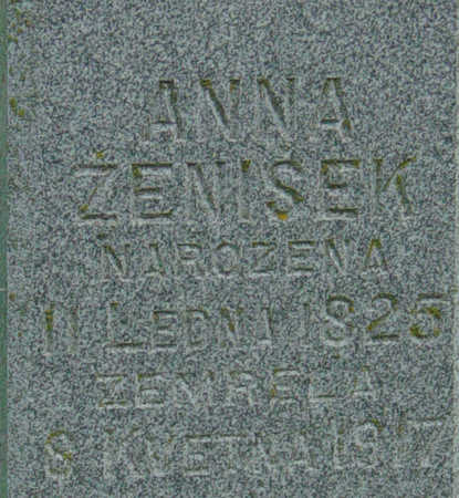 ZENISEK, ANNA - Johnson County, Iowa | ANNA ZENISEK