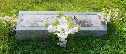 ZENISEK, MARY A. - Johnson County, Iowa | MARY A. ZENISEK