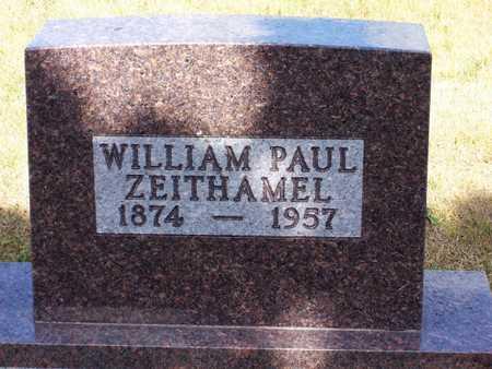 ZEITHAMEL, WILLAIM - Johnson County, Iowa   WILLAIM ZEITHAMEL