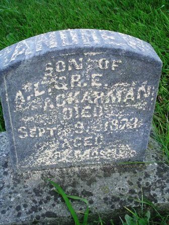 ACKARMAN, ANDREW - Jones County, Iowa | ANDREW ACKARMAN
