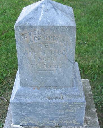 ACKERMAN, BETSEY (BRUNDAGE) - Jones County, Iowa | BETSEY (BRUNDAGE) ACKERMAN