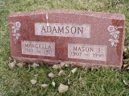 ADAMSON, MARCELLA - Jones County, Iowa | MARCELLA ADAMSON