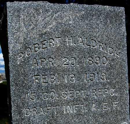 ALDRICH, ROBERT H. - Jones County, Iowa | ROBERT H. ALDRICH