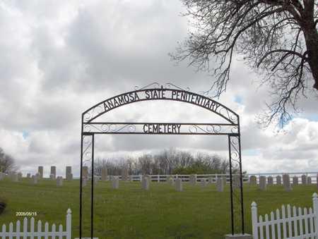 ANAMOSA STATE PENITENTIARY, CEMETERY - Jones County, Iowa | CEMETERY ANAMOSA STATE PENITENTIARY